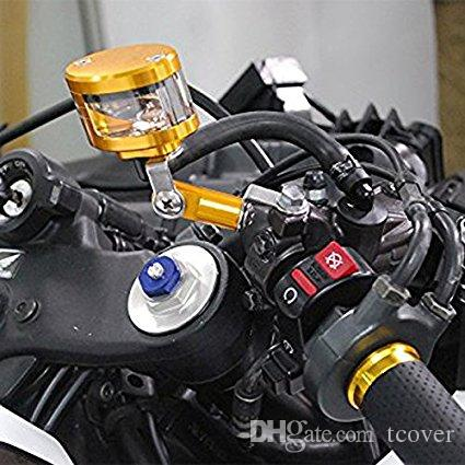 Motorcycle CNC Billet Racing Front & Rear Brake Tank Cup Master Cylinder Fluid Oil Reservoir Brake For Yamaha YZF R6 1999-2004 R1 FZ1 Z1000