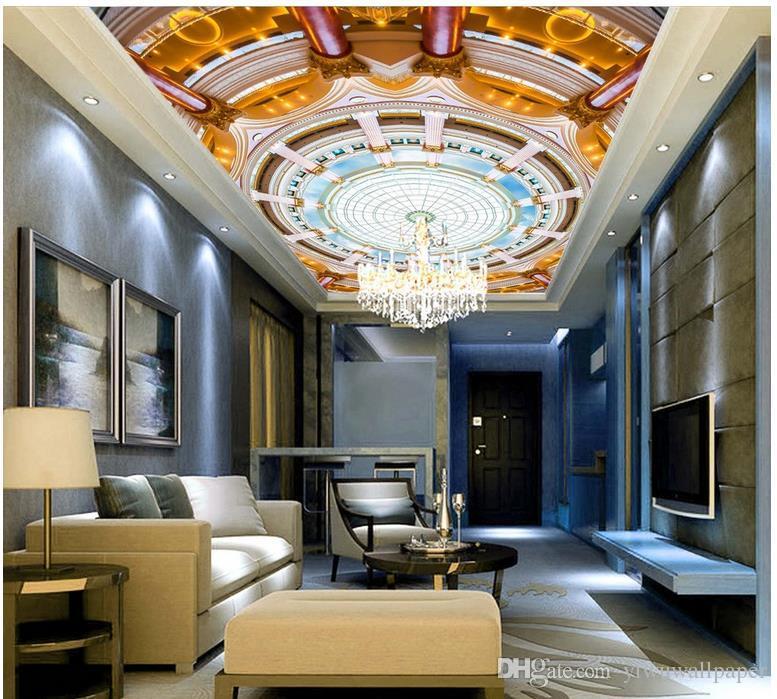 Hohe Qualität Costom Europäischen 3D Deluxe Zenith Wandbild mode dekor dekoration für schlafzimmer