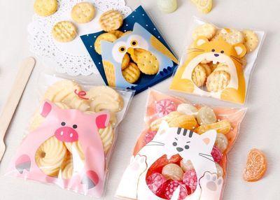 Grosshandel 100 Stucke Nette Tiere Sussigkeiten Kuchen Kekse Kekse