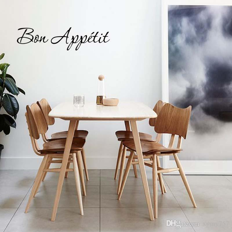 New Product For Bon Appetit Wall Quote Decal Removable Funny Stickers Kitchen  Decor Vinyl Diy Home Art Gift Monkey Wall Stickers Mural Decals From  Xymy757, ...