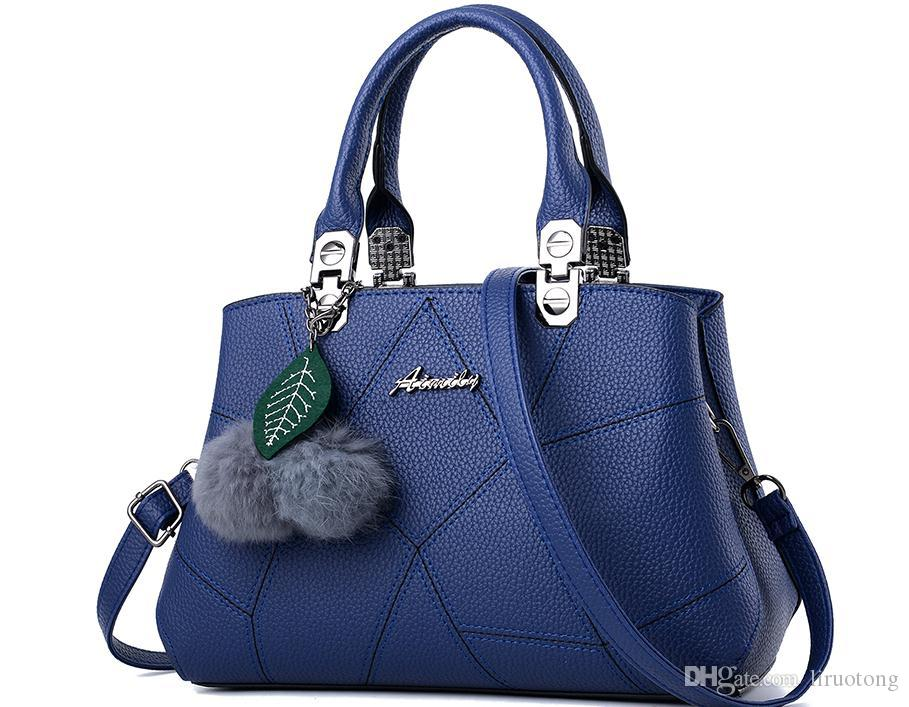 Lady handbags vogue of new fund of 2017 autumn winters is middle-aged female single mother package shoulder bag bag, han edition handbag
