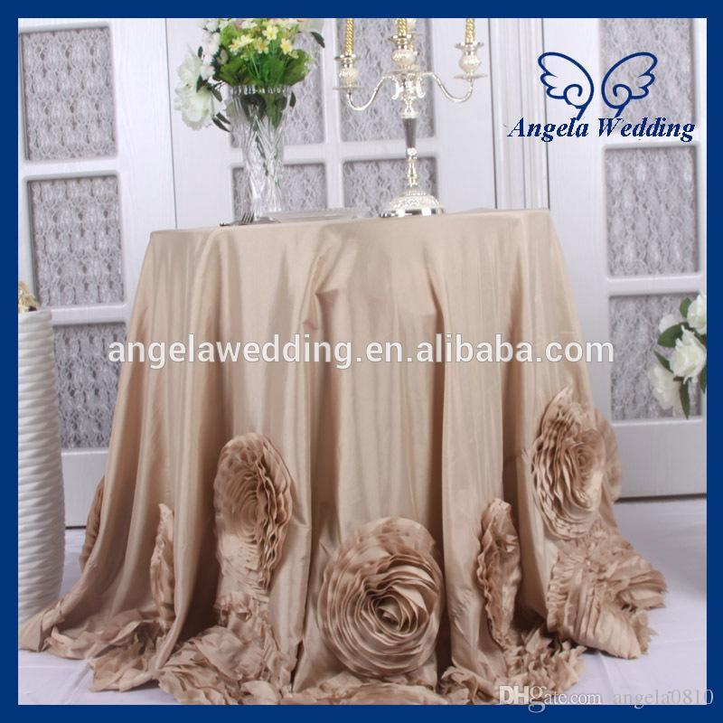 Cl052a Fancy Elegant Round Ruffled Flower Fancy Wedding 108 ...