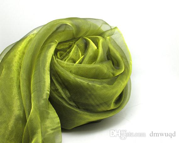 1 Yard 57 Inches Organza Fabric|Green|Two Tone Fabric|By the Yard|Shiny Sparkle Decorative Fabric|Event Home Decor
