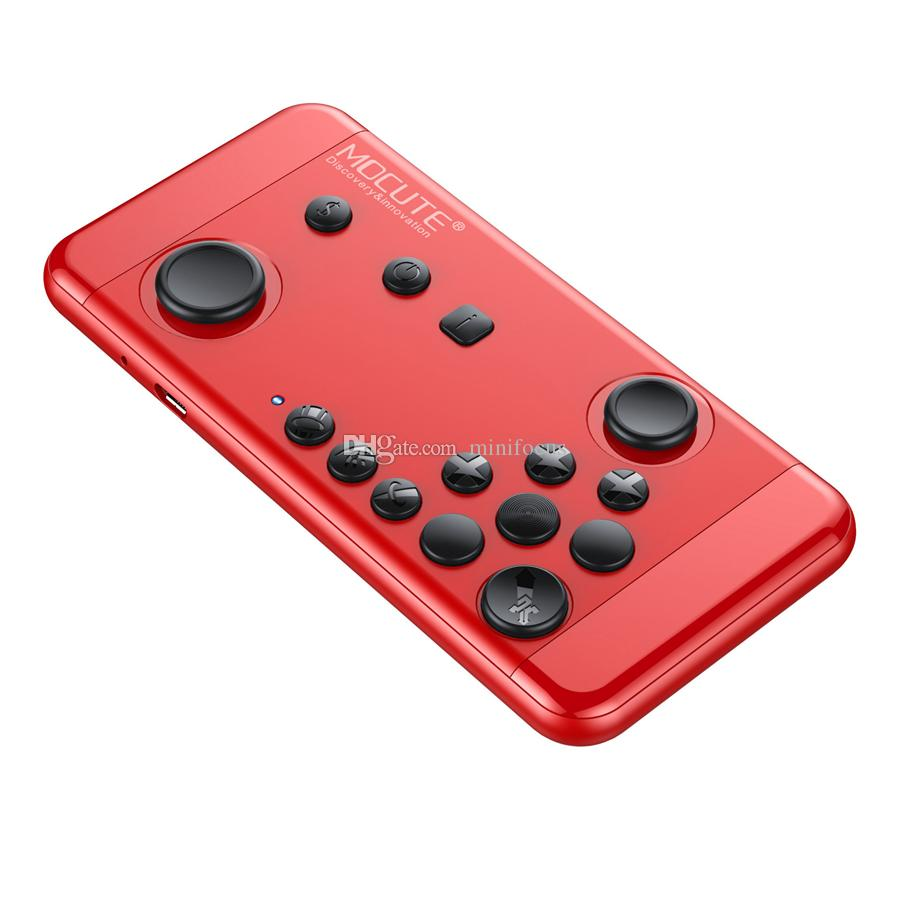 Terios Gamepad Android Bluetooth Wireless T3 Smartphone Vr Box Tv 525 Game Mocute 055 For Strike Of Kings Mobile Handheld Joystick Console 4 Icade