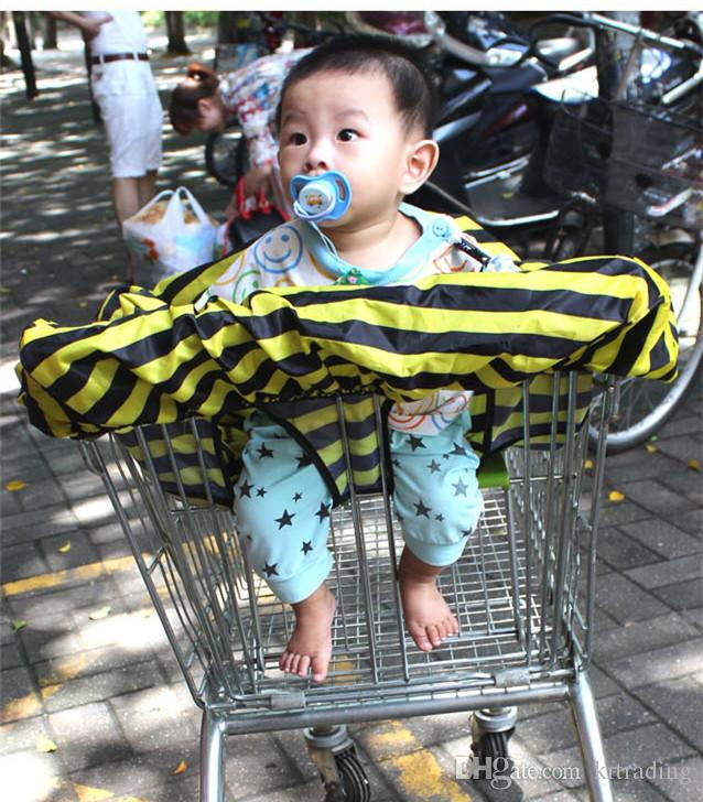Carrello spesa Covers Baby SEDIA Seggiolone bambini da pranzo sedia da tappezzeria Modelli di api