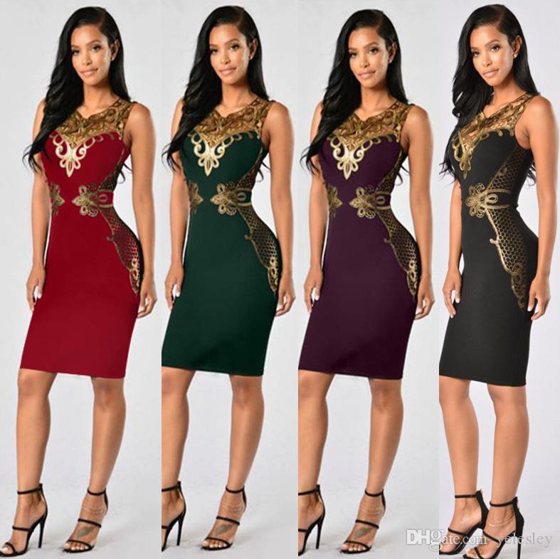 Sexy Tight Lápiz Vestido de noche Diseño de moda Decoración de encaje Formal Prom Party Vendaje Vestidos Sexy Clubwear Slim Paquete Hip vestidos