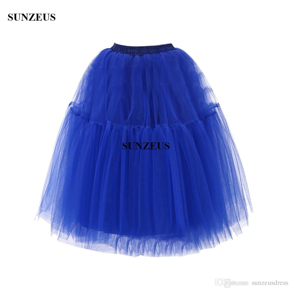 5 Layers Tulle Skirt Wedding Dress Petticoats Underskirt For Evening Gowns Knee Length Jupon Mariage Rockabilly Crinoline accessories