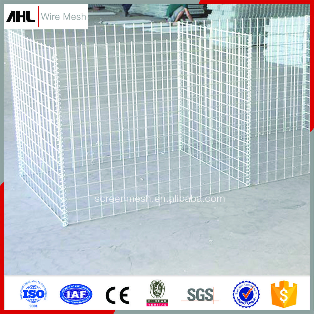 2018 Easy Assembly High Quality Galvanized Welded Wire Mesh Gabion ...