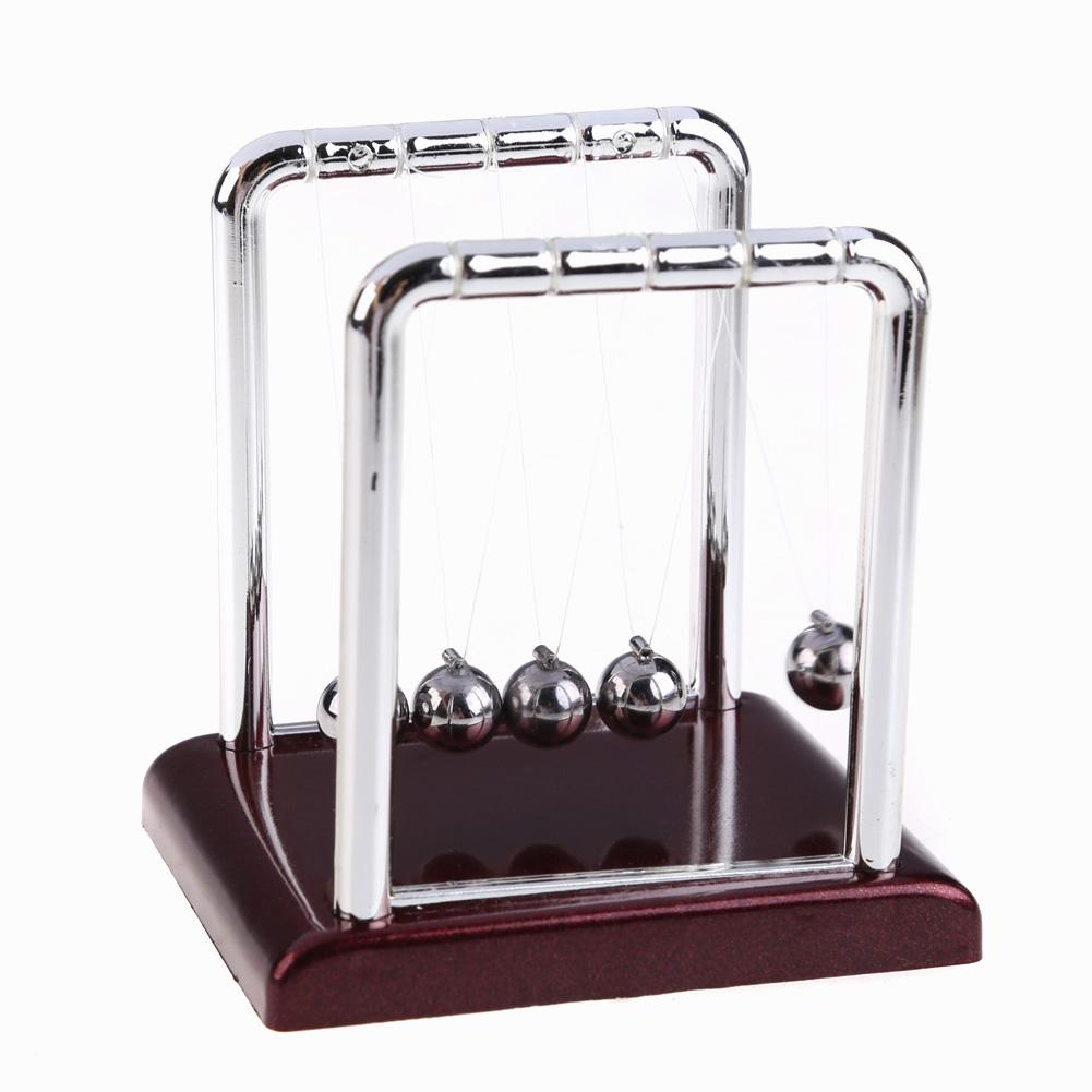 Early Fun Development Educational Desk Toy Gift Newtons Cradle Steel Balance Ball Physics Science Pendulum