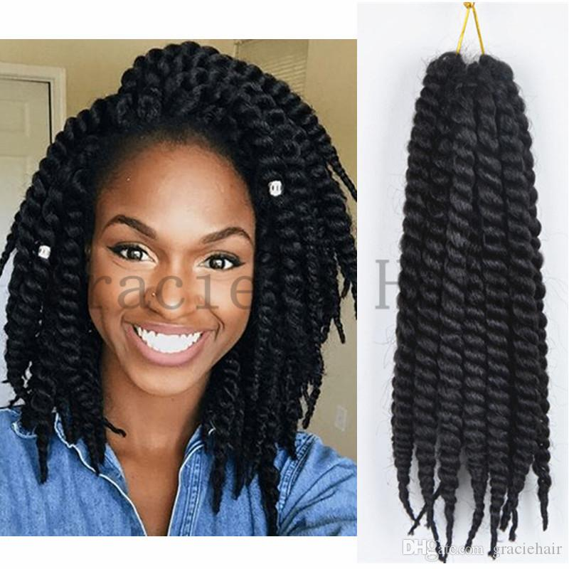 Synthetic Hair Havana Twist Crochet Braids Senegalese Twist Crochet