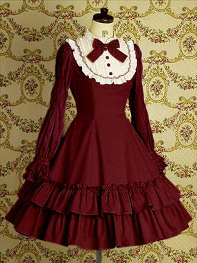 Malidaike Anime Palace Sweet Lolita Gothic Lolita Dress Vintage ...