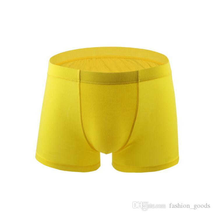 Good A++ Fashionable men's underwear modal comfortable waist waist men's pants breathable MU043 for men Underpants