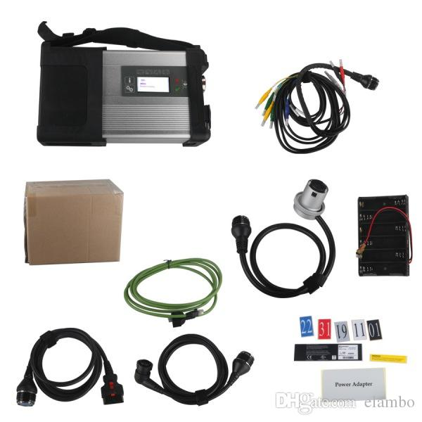 2017 Newly MB Star C5 wifi MB SD Connect Compact 5 Diagnostic tool for Mercedes benz for Cars and Trucks