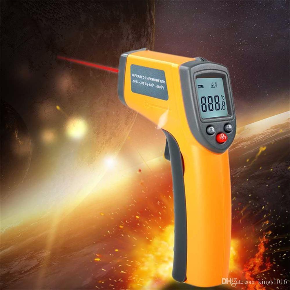 Grosshandel Gs320 Laser Lcd Display Ir Digitalthermometer Auto