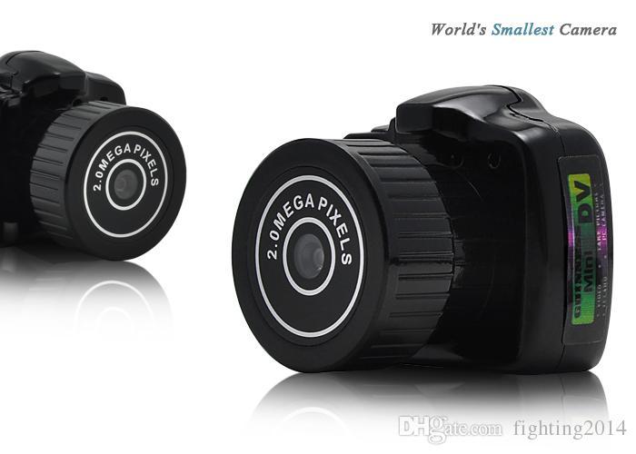 كاميرا صغيرة Y2000 HD Pocket Mini DV كاميرا فيديو تسجيل صوتي Micro Cam أصغر كاميرا رقمية مصغرة Camara