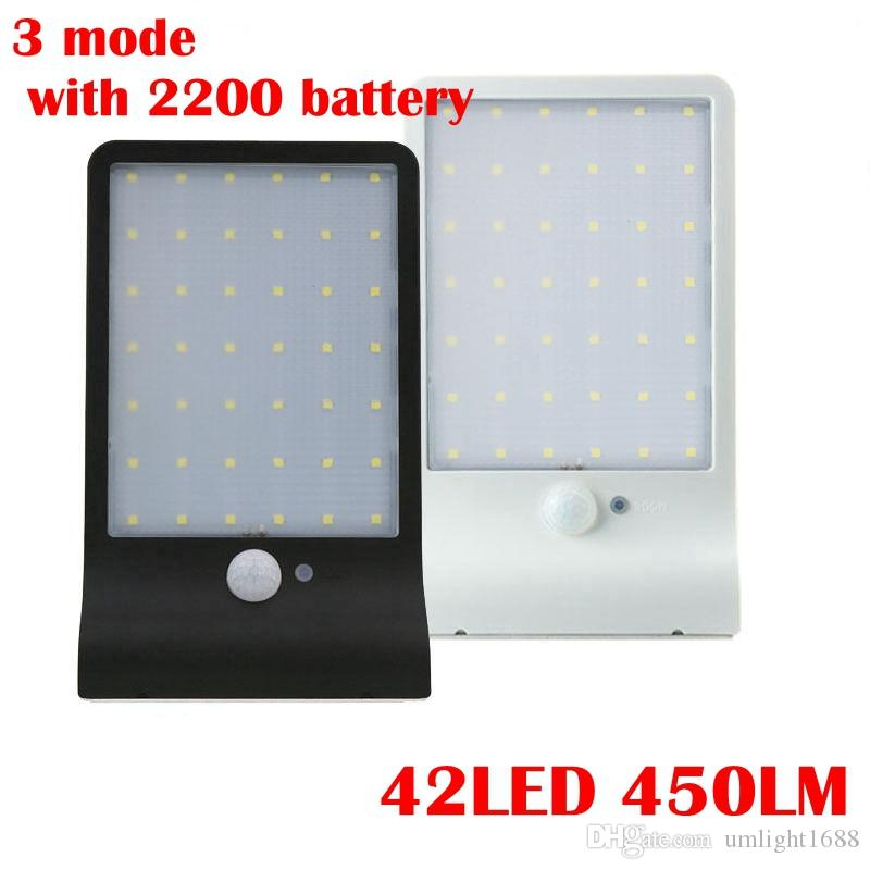 Best New 42 Led Solar Light Pir Motion Sensor Solar Lamp 3 Mode Ip65 ...
