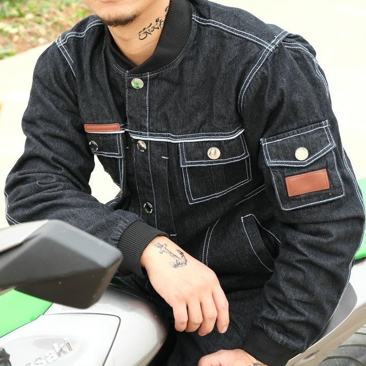 New model suit for four seasons free yogin Denim jacket motorcycle jackets racing jackets riding clothing cycling jackets have protection
