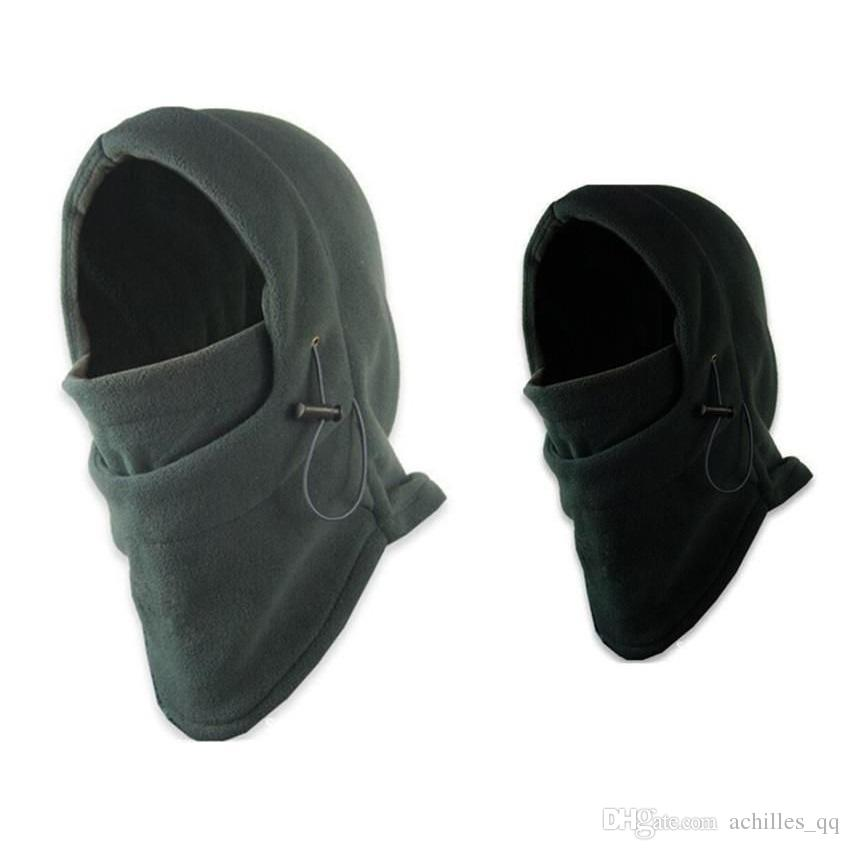 518a1e329f5 2019 Winter Warm Thermal Fleece Balaclava Hunting Shooting Headwear Full Face  Mask Outdoor Sport Snood Hood Scarf Beanie Hats Caps From Achilles qq