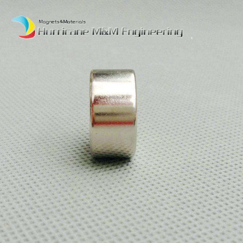 Diametro foro con foro svasato Diametro 20x10 +/- 0,1 mm Spessore M5 Vite svasata Foro al neodimio Magnete permanente terre rare