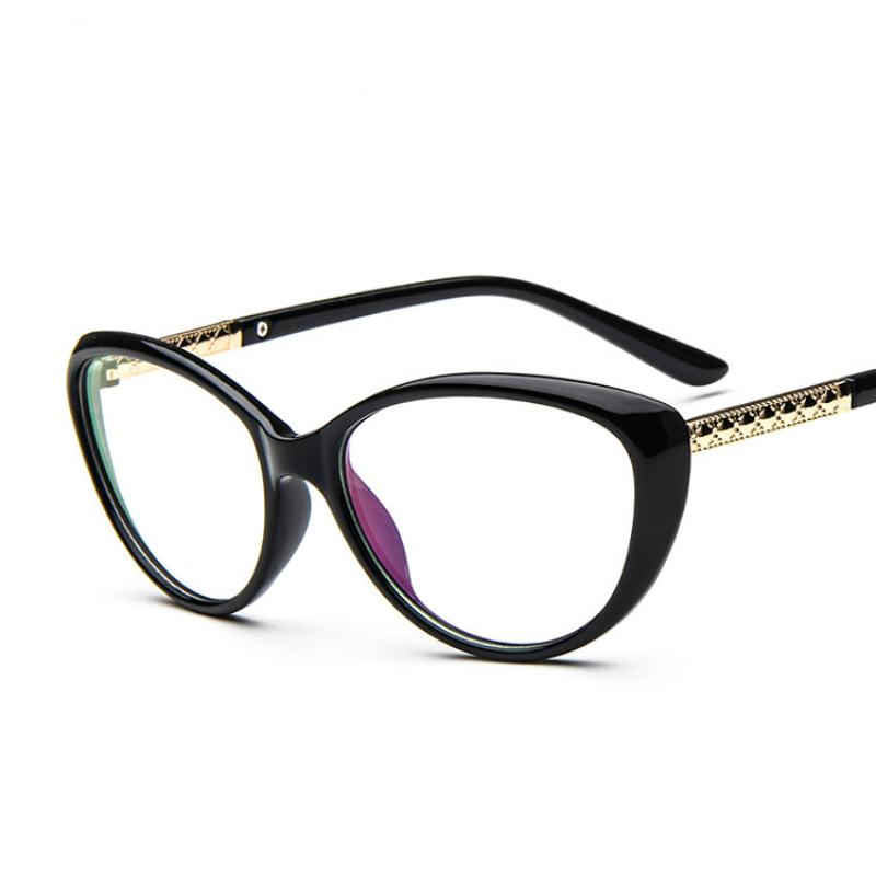 8693345878c Wholesale- ANEWISH Band New Designer Women Cat Eyeglasses Glasses ...