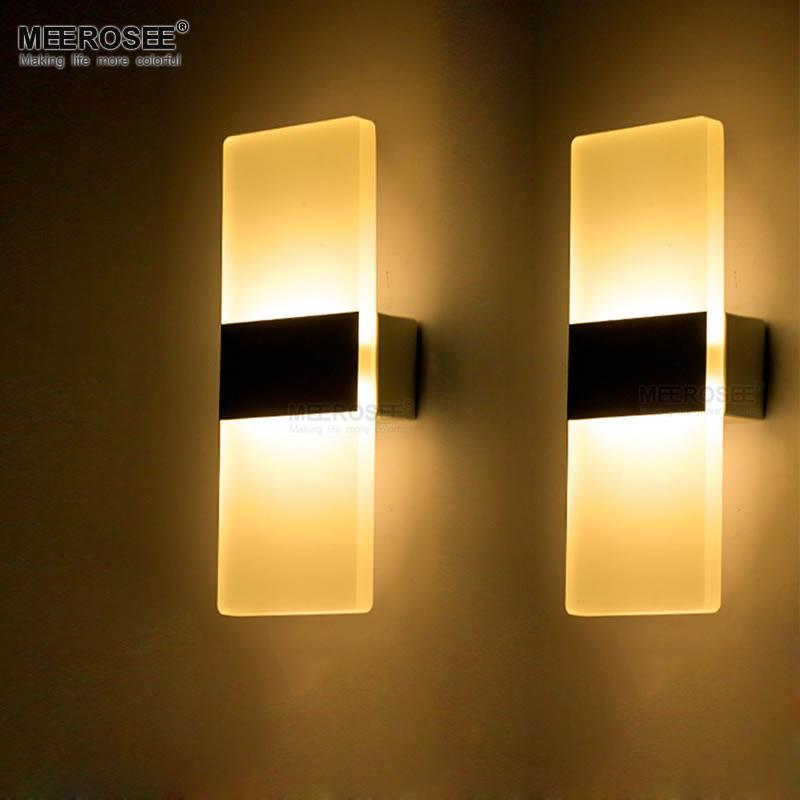 Modern 6w Led Wall Lights Bathroom Lighting High Quality Aluminum ...