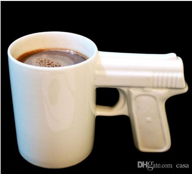 acheter pistolet grip tasses caf tasse funny gun mug tasse th au lait creative office. Black Bedroom Furniture Sets. Home Design Ideas