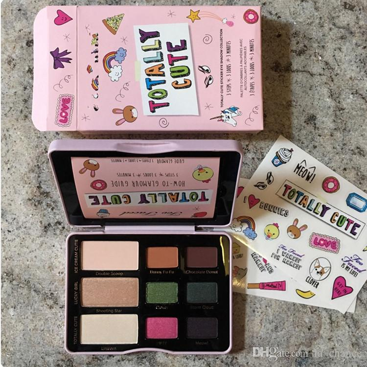 NEW ARRIVAL Sugar Pop sweet peach Eyeshadow Totally Cute Eyeshadow Cat Eyes Eyeshadow Palette Blush face Cosmestics free shippiing