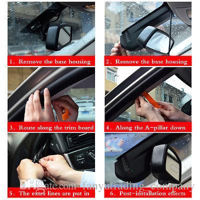 WIFI 1080P 170° Playback Hidden Car DVR HD Video Camera Recorder Night Vision Dashboard Vision Veicular Camera video Registrator Car DVR