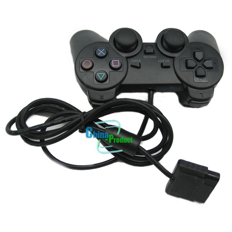 PS2 Playstation Dualshock 2 Için Kablolu Kontrol Gamepad Manette Joystick Controle Mando Oyun Denetleyicisi Konsolu