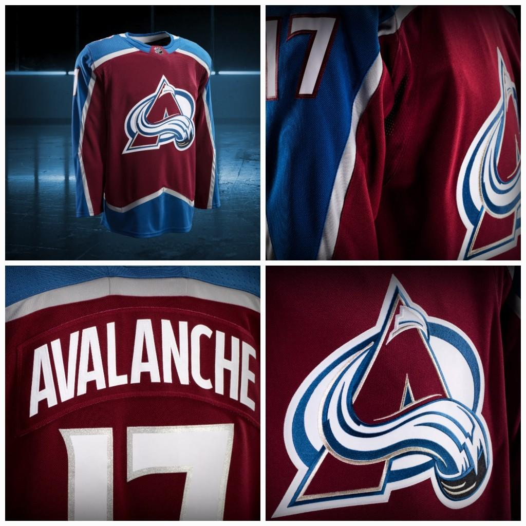sports shoes 159be cce0f Colorado Avalanche Jerseys 2017-2018 Season New team jerseys Custom  Personalized Hockey Jerseys 100% Stich Embroidery Freeshipping