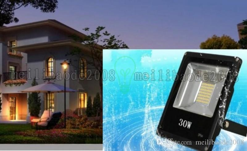 factory price 30W 50W outdoor waterproof garden landscape flood light warm/cool white IP65 LED Floodlights AC85-265V MYY