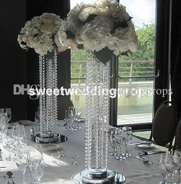 New Gorgeous Tall Bulk Plastic Vases For Home Wedding Decoration