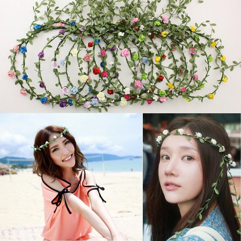 Hochzeit Zubehör Braut Kopfbedeckungen Hochzeit Braut Headwear Haar Kranz Crown Zubehör Für Festival