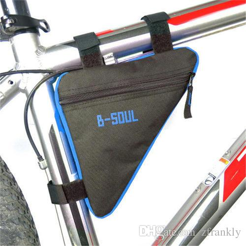2018 Outdoor Waterproof Triangle Bags Front Tube Frame Bag Mountain ...