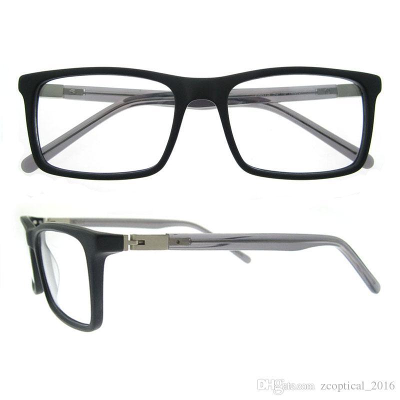 New Arrival Rectangle Eyewear Frame Simple Design For Grace Men ...