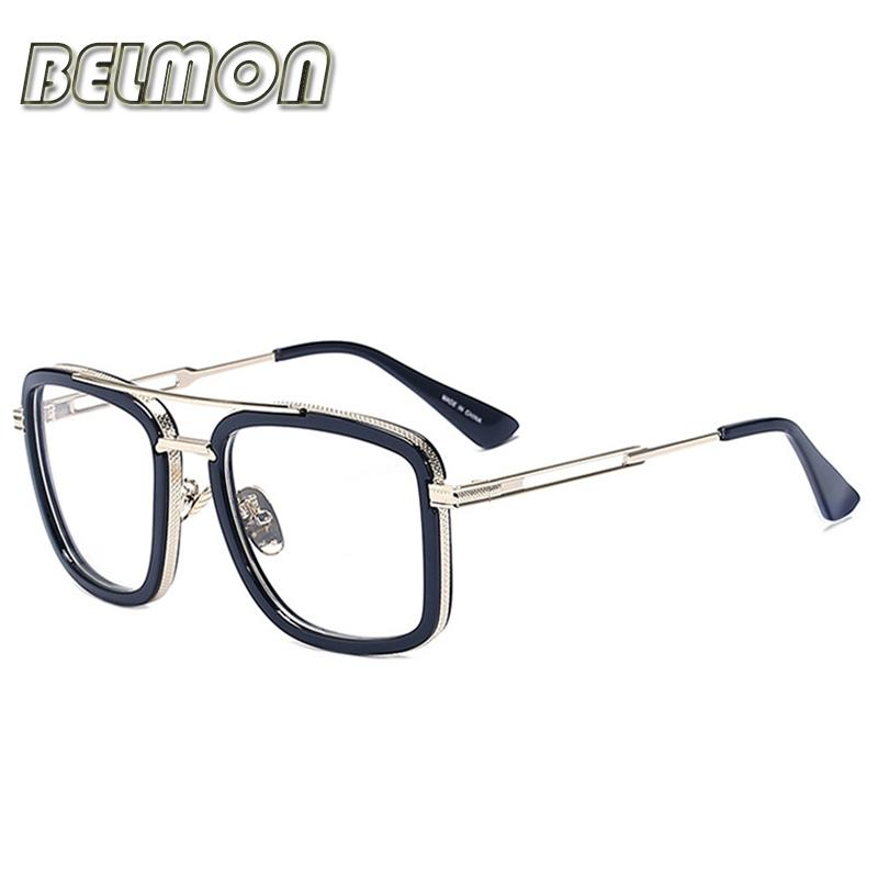 8909101ab8e Wholesale- Eyeglasses Frame Men Women Computer Optical Eye Glasses  Spectacle Frame For Male Women s Transparent Armacao Oculos De RS317 Eyeglasses  Frames ...