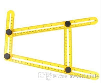 Multi-Angle Ruler Angle-izer Template Tool Angleizer Angle Template Tool Multi-Angle Ruler Flooring Template Tool