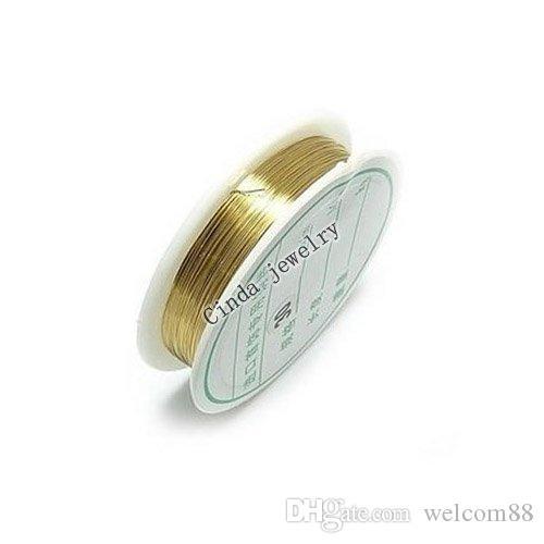 10ロール/ロットジュエリー所見コンポーネントコード銅線DIYファッションクラフトギフトWi2