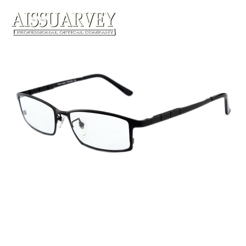 Großhandel Männer Brillengestell Reinem Titan Optische Brillen ...