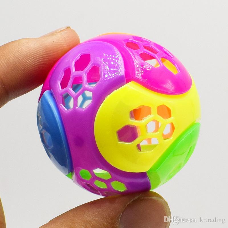 Mini Football plastic blocks kids cute DIY toys funky twist egg toys party props capsule toys sales promotion kids gfits