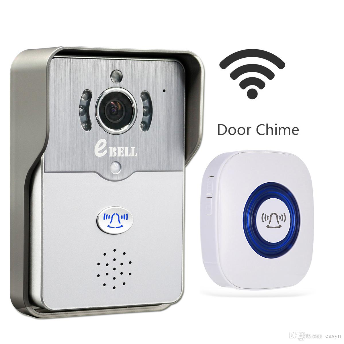 ... Camera W/ Indoor Chime Support Mobile Phone Unlock 2 Way Audio Talking Night Vision Alarm Video Phone Video Phone Door From Easyn $70.36| Dhgate.  sc 1 st  DHgate.com & Ebell Home Security Hd Wifi Video Doorbell Camera W/ Indoor Chime ...