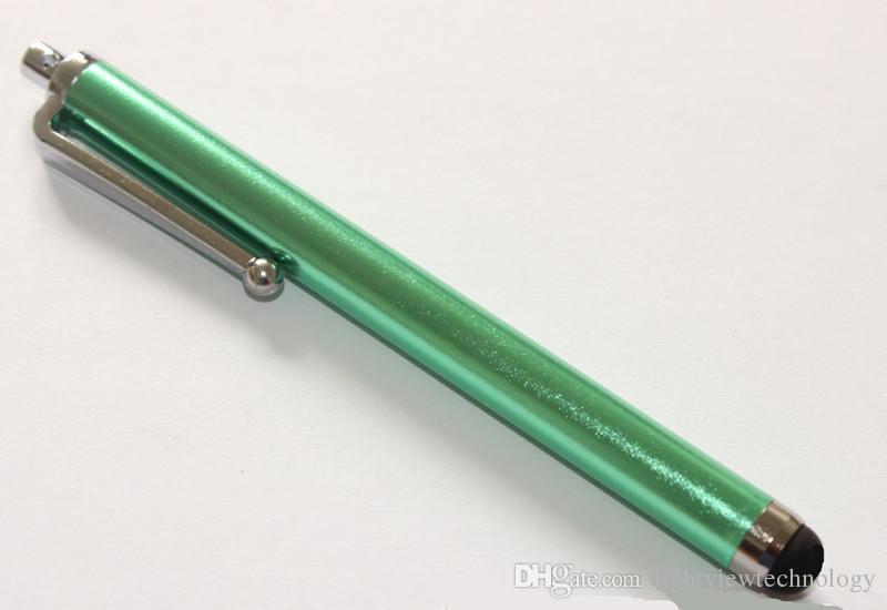 Pantalla táctil capacitiva de la pluma de la aguja para la tableta universal del teléfono móvil iPhone de iPod del iPad iPhone 5 5S 6 edge 6plus S7 Huawei P9