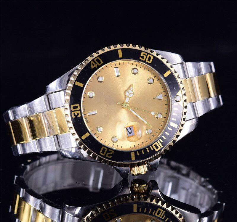 relogio masculino mens orologi lusso wist moda quadrante nero con calendario staffa pieghevole chiusura master maschio 205 regali mens luxuryluxury