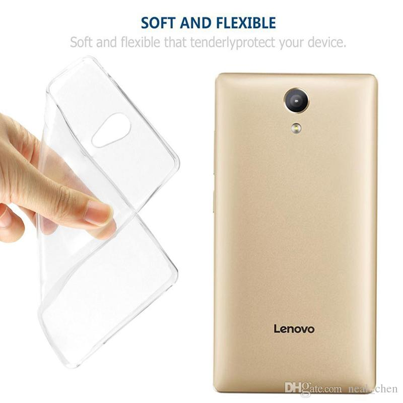 Flexible 0.33mm Slim Shock Absorption Crystal Clear Soft Durable Rubber TPU Cover for Lenovo K3 A6000 S60 note A2800 A7600 A6800 K5 Plus p1