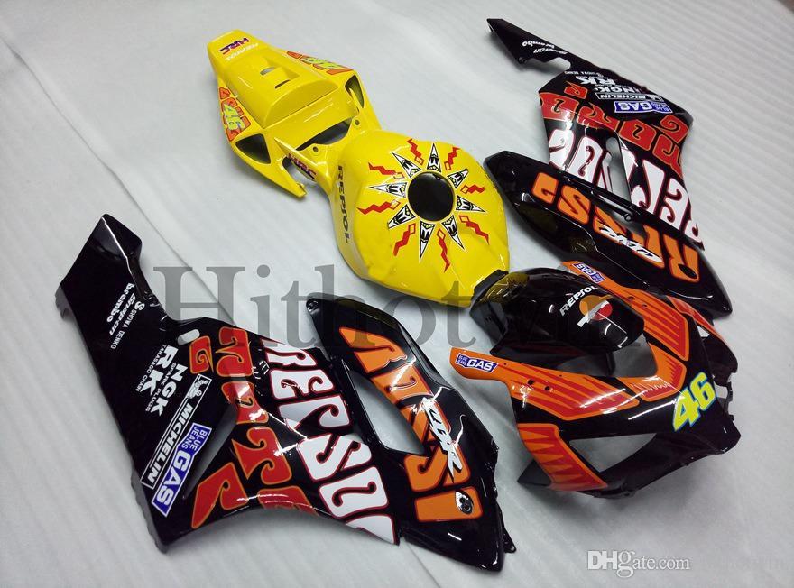 repsol orange ABS Fairing For honda CBR1000RR 2004-2005 CBR 1000 RR 04 05 Aftermarket Motorcycle