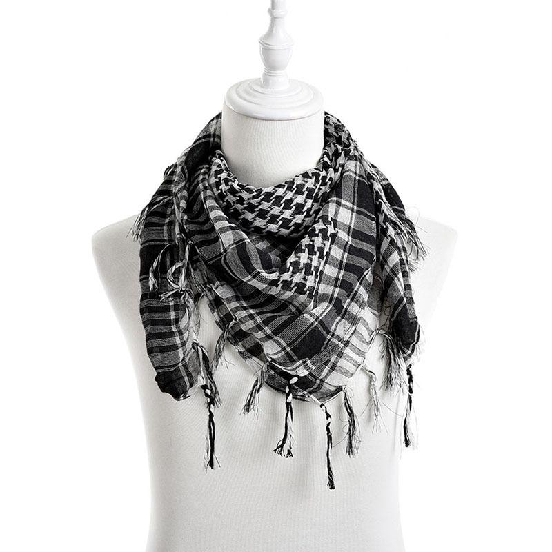 c407e8ffa2a Wholesale New Unisex Women Men Checkered Arab Grid Neck Keffiyeh Palestine  Scarf Wrap 2015 Hot Sale Knitted Scarf Scarves Wholesale From  Pulchritudinous