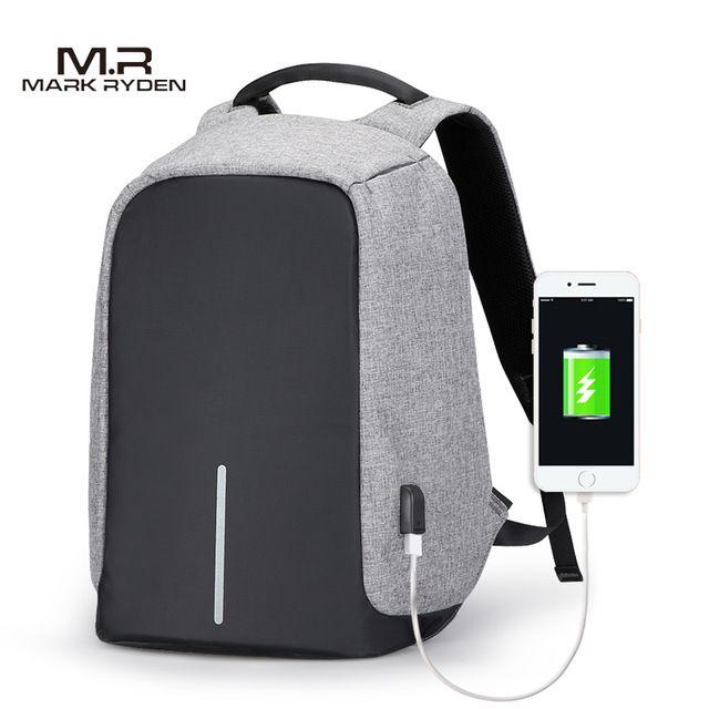 95f62807f61 Men Business Backpacks USB Charging Design School Backpack for Teenagers  Laptop Backpack Anti-theft Bags for Trip USB Charging Design School Backpack  Online ...