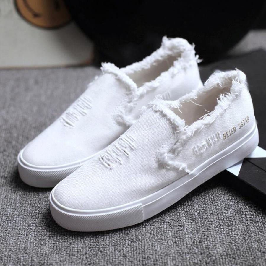 2017 summer white s canvas shoes breathable