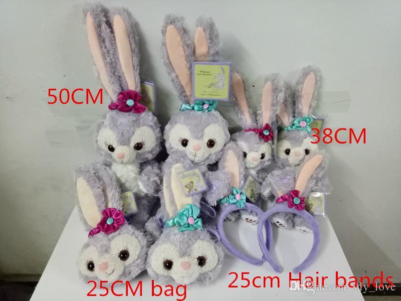 2019 38cm 50cm Duffy Bear Friend Stella Lou Rabbit Plush Doll Toy