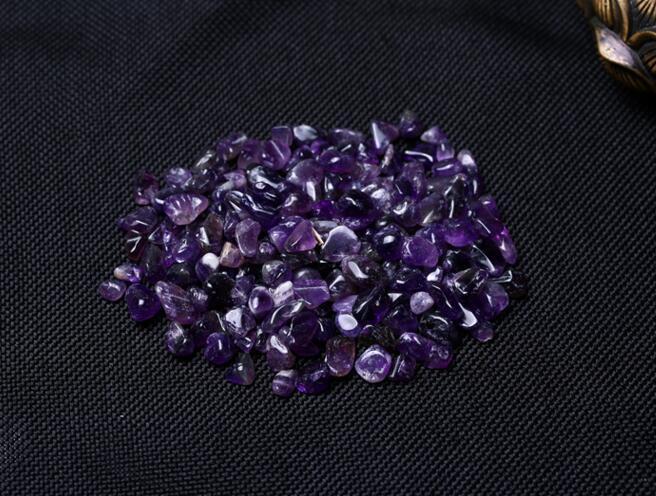 Natürliche Amethyst Kristall Stein Erz Energie Stein Rohen Mineralien Schmuckherstellung 100G = 1 Beutel Büro Home dekoration